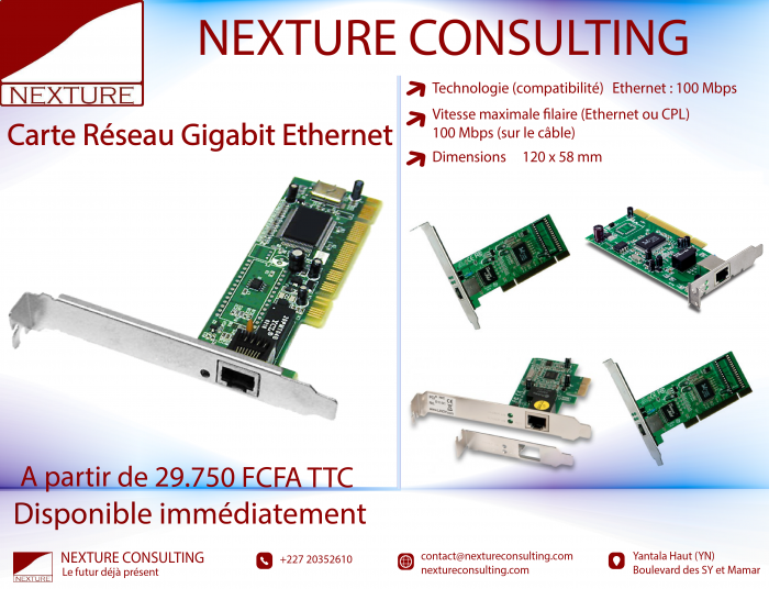 Carte Ethernet