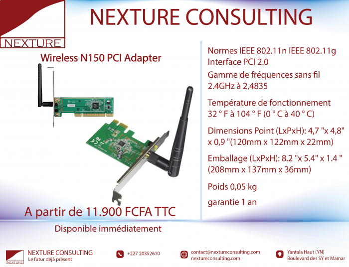 Wireless N150 PCI